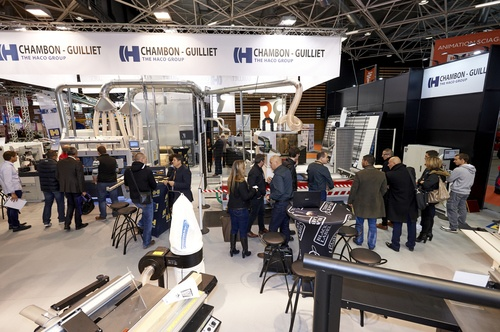 Chambon Guilliet, Black Label et Bio4Heating à Eurobois Lyon